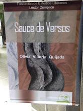 Libro recomendado. Sauce de Versos, a la venta.