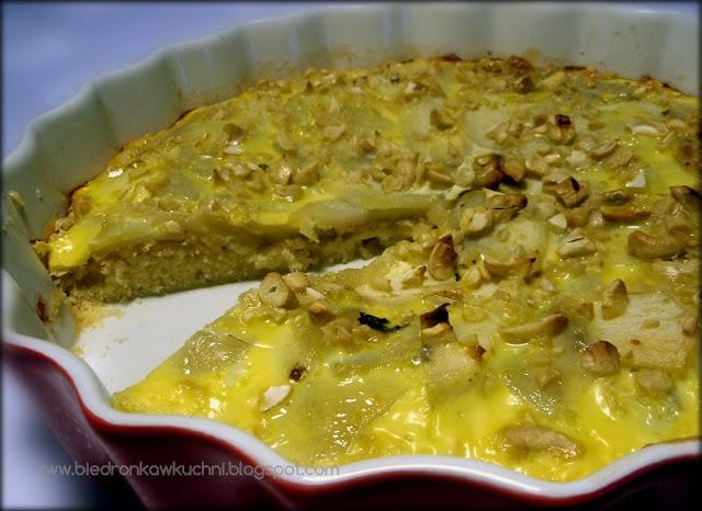 ciasto z jabłkami, jabłecznik, retro kuchnia, fannie farmer, proste ciasto z jabłkami, przepis