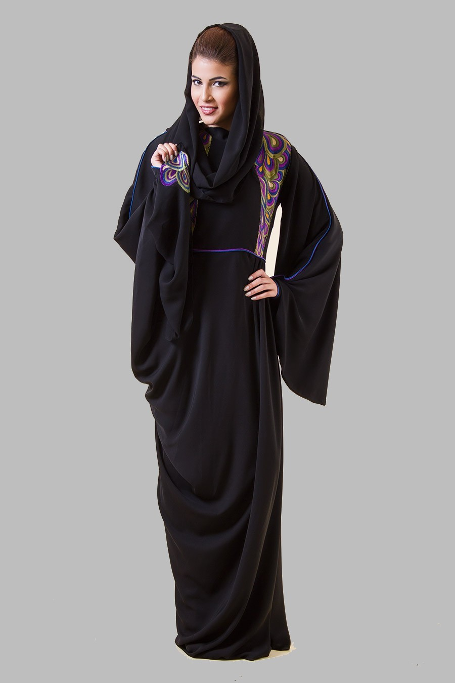 2017 fashion abaya - Abaya Latest Muslim Pictures To Pin On Pinterest Tattooskid