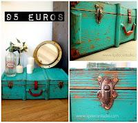 Tienda online de maletas y cajas antiguas en valencia estilo nórdico y vintage