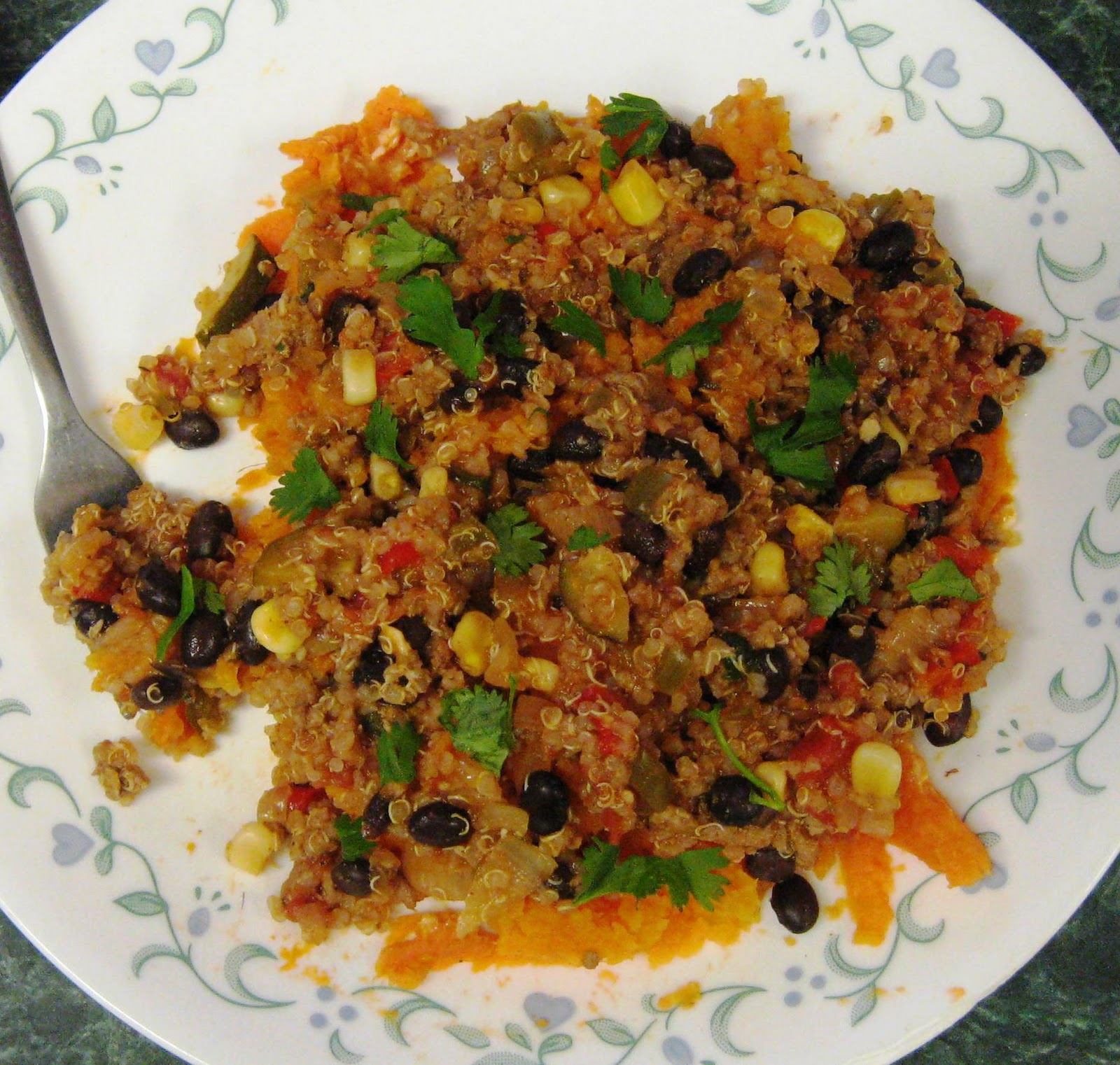 Quinoa Chili Skillet