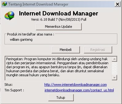 Download IDM terbaru 6.18 build 7 Full Crack and Patch 100% work