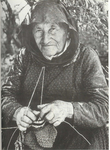 Old Lady Knitting Images : Priddey family history july