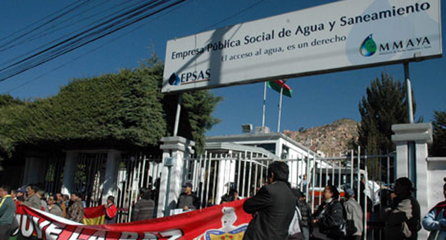 Crisis del agua en La Paz