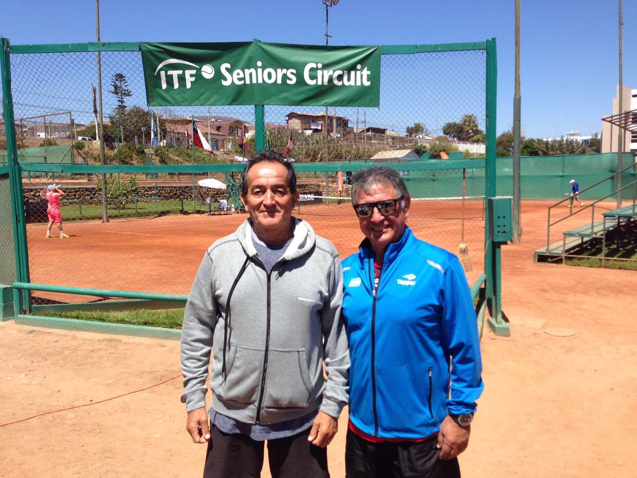 ITF SENIORS G2-LA SERENA CHILE- AGUANTA LA ARMADA MENDUCA