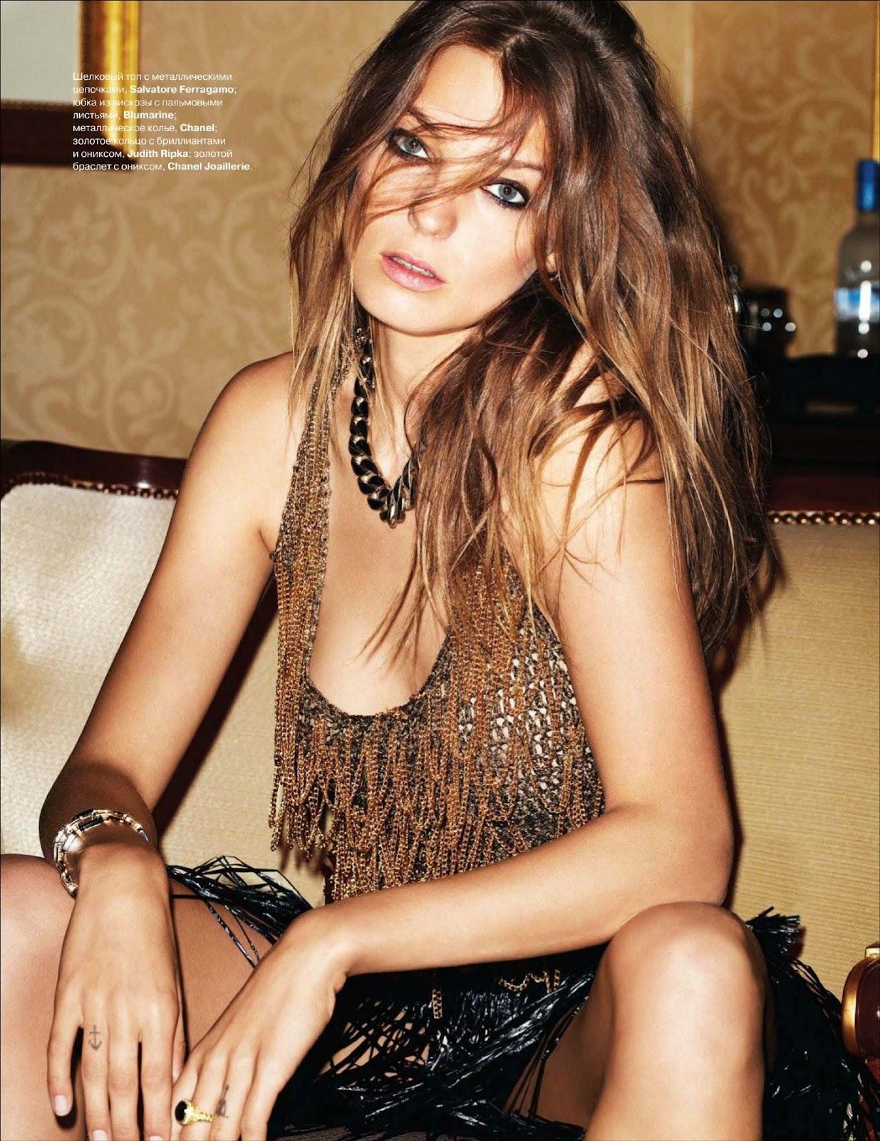 Daria Werbowy ♥ Tatler Russia, March 2012