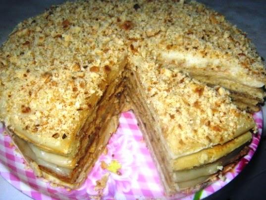 Торт с маслом растительным фото 10