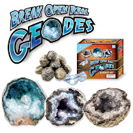 Break Open Real Geodes Kit Review & GIVEAWAY