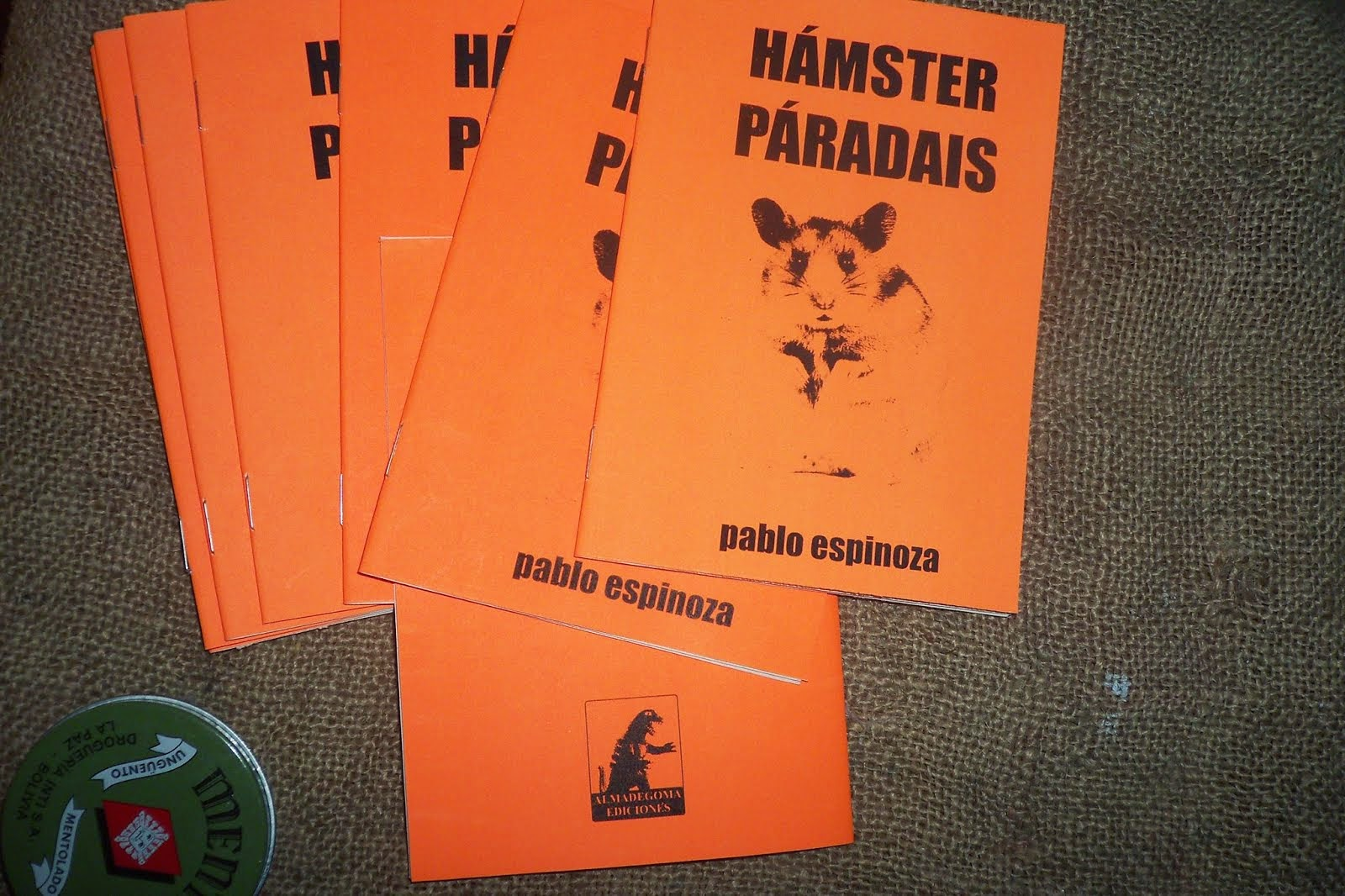 Hámster paradais (2013, fanzine de dibujos + fotos + collages)
