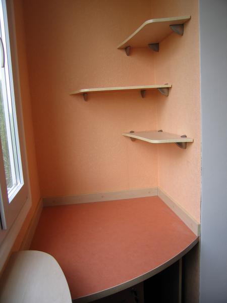 Полка для балкона балконы для всех!.