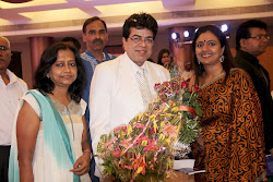 Samrudhi Pore( In Saree) the national award winning Film Director at the function