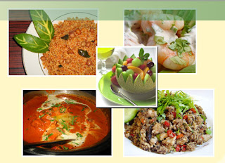 Continental, Indian & Chinese Menu @ Atrium Cafe