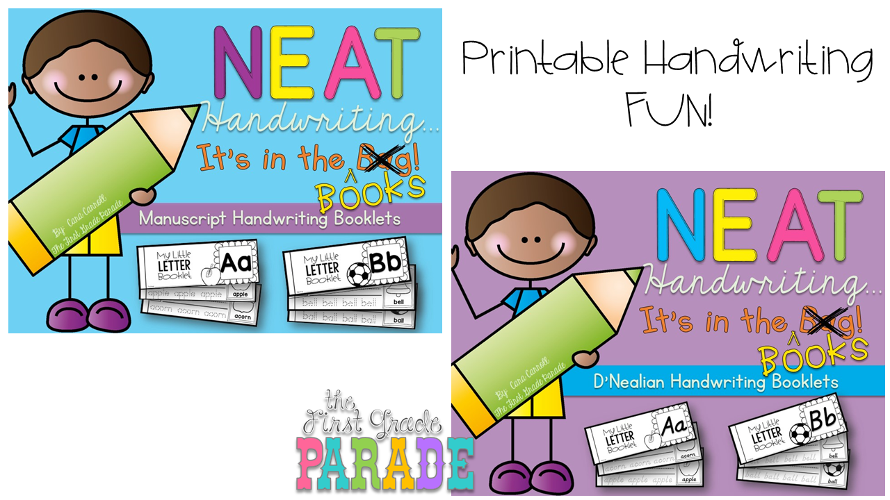 Back to School...It\'s Here! - The First Grade Parade