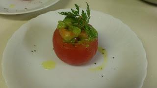 トマトのファルシー:出張料理