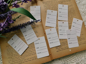 Tiny Merchant Tags - Set Of 10 - Price $2.95