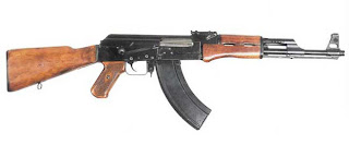 rugged Ak-47 Assault Rifle