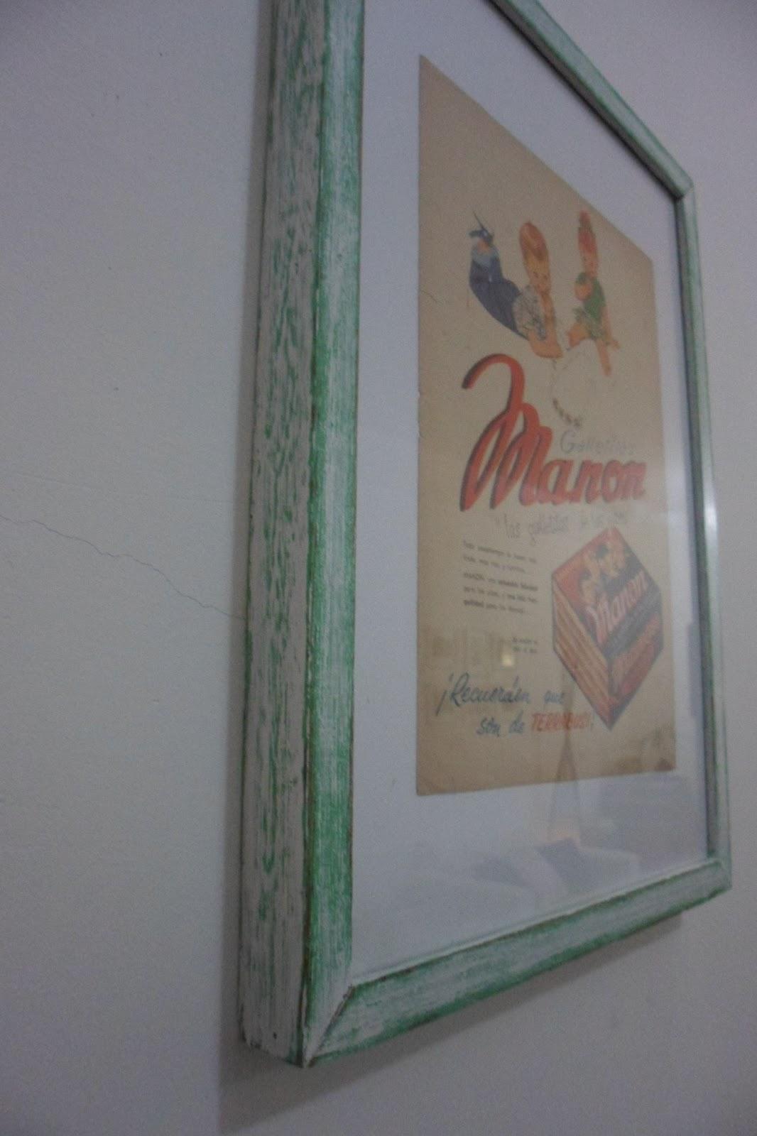 LocaLinda - Objetos de diseño: Cuadros y Marcos restaurados