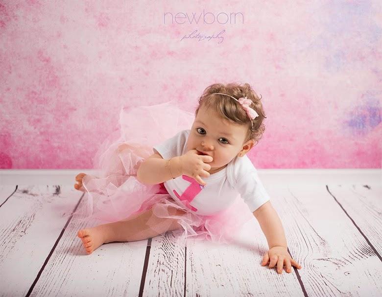 Extrem Photographe bébé: Hanna, 1 an, 1ère séance pour son 1er  BL92