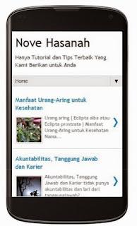 blog anda harus mobile friendly