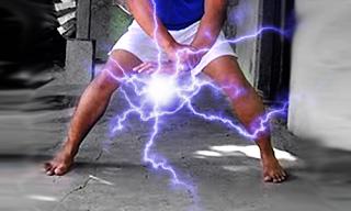 cara membuat efek chidori seperti sasuke menggunakan adobe photoshop ...