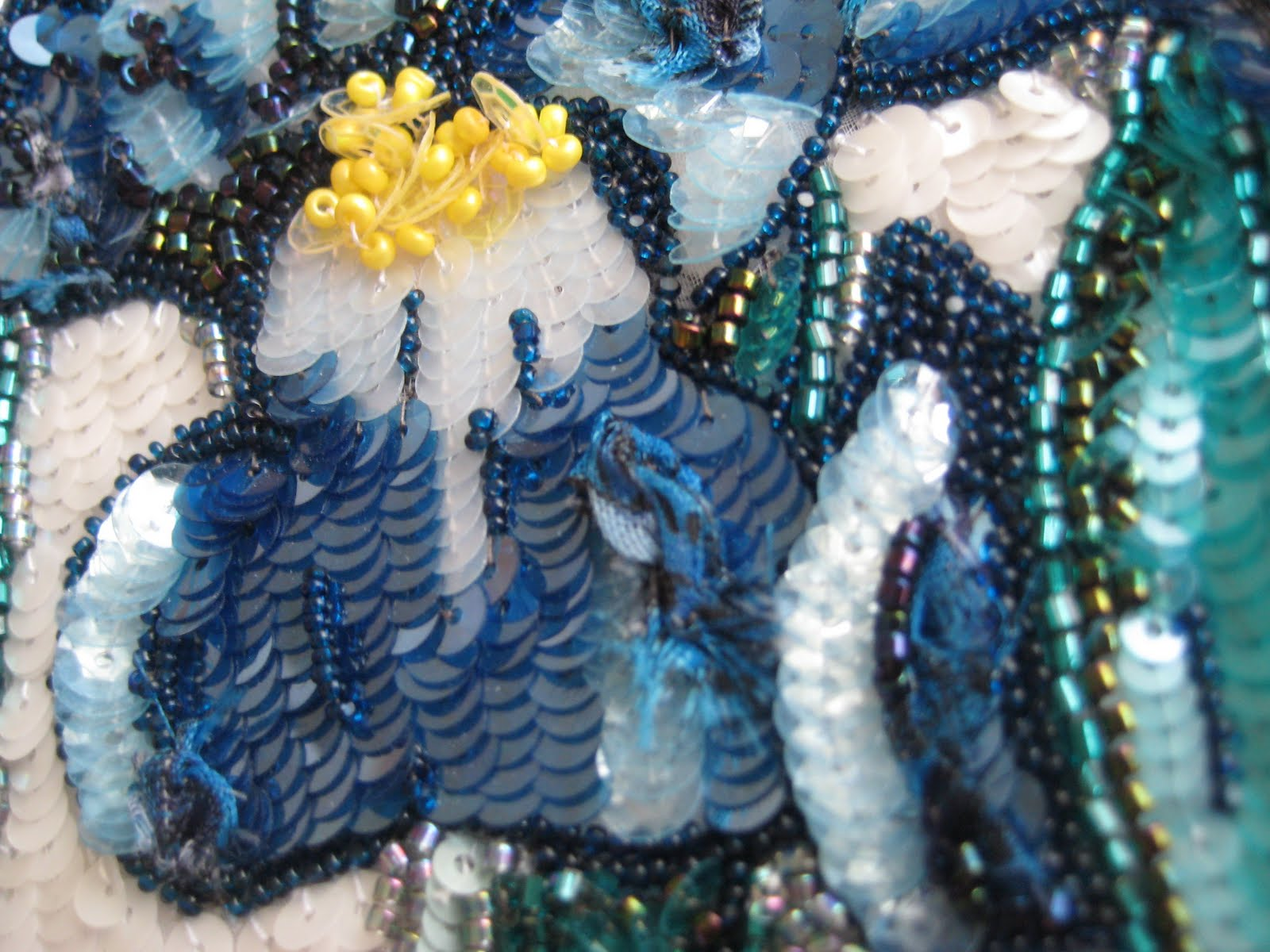 A glimpse of paris iris couture embroidery