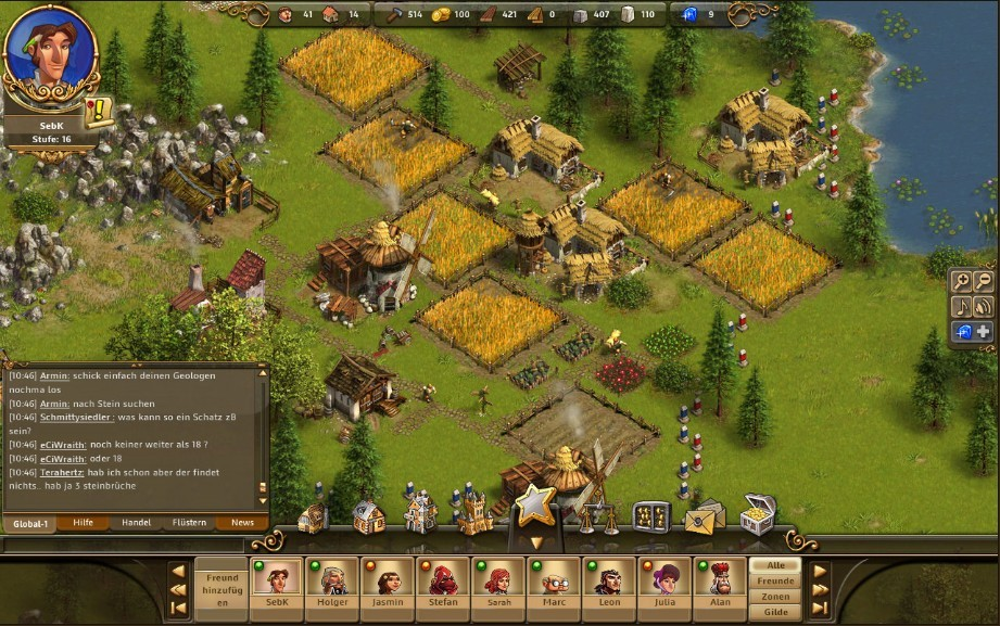 The Settlers Online Village All Building Icons