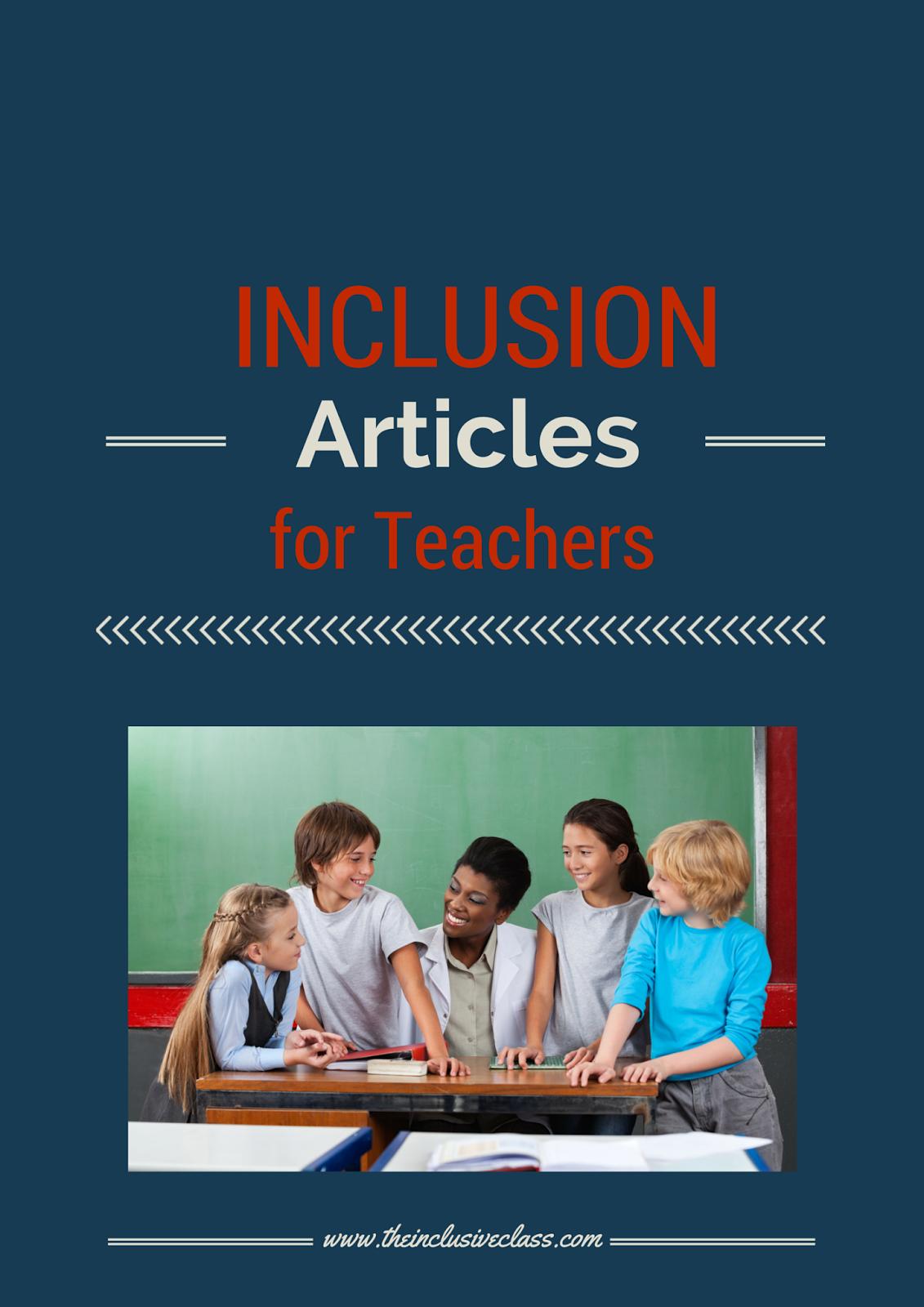 essay inclusion classroom