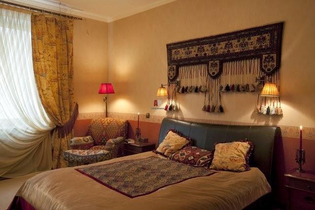 Спальня в восточном стиле дизайн фото