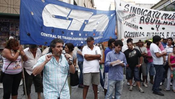 """""""No somos terroristas"""", bramaron dirigentes tucumanos"""