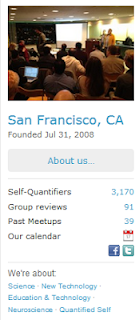 Quantified Self San Francisco Meetup