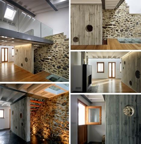interior rumah di spanyol yang penuh karakter dan sentuhan