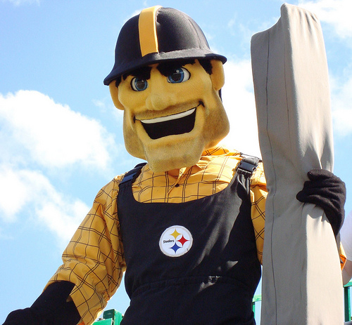 Pittsburgh Steelers Mascot: Abstract Nicknames/ Mascots