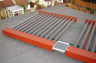 evacuated tube solar water heaters