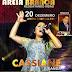 Segunda edição do Louva Areia Branca terá como atração o maior nome da música gospel do Brasil, a cantora Cassiane