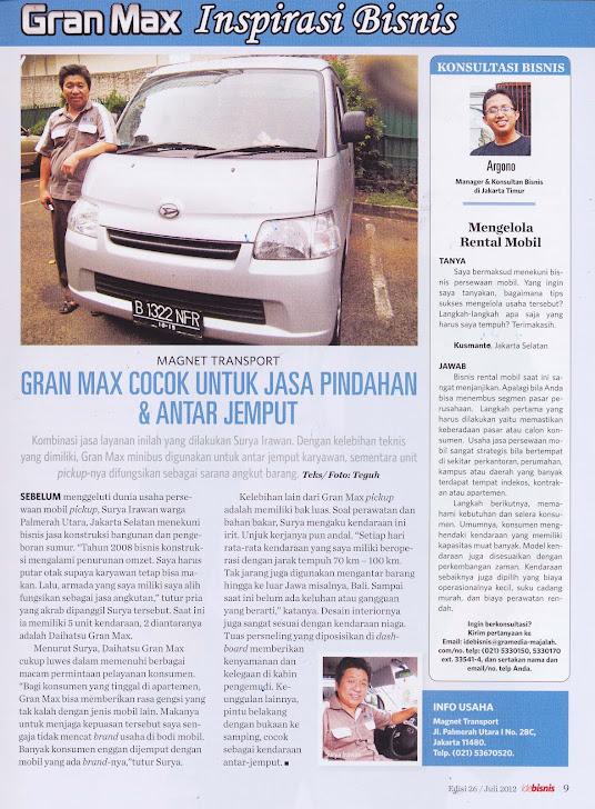 Grand Max Inspirasi Bisnis