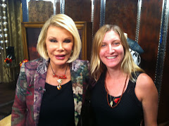With Joan Rivers
