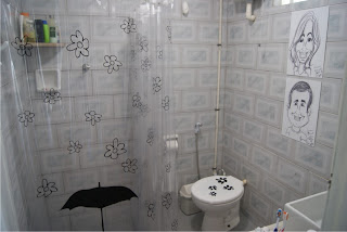 adesivos de banheiro humorado