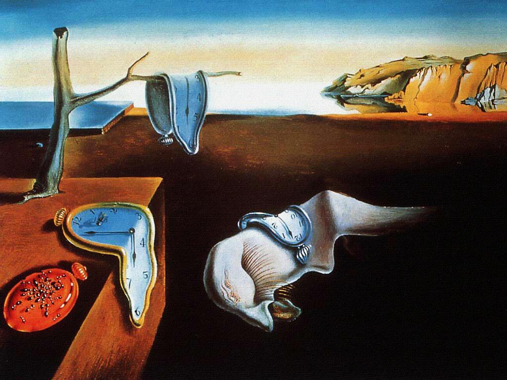 """""""La persistencia del tiempo"""" de Dalí"""