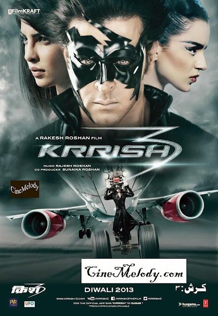 Krrish 3  Hindi Mp3 Songs Free  Download  2013