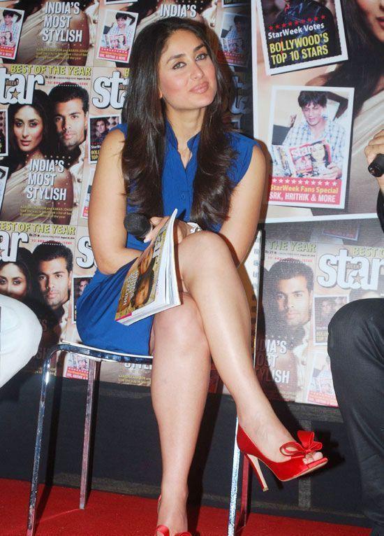 Kareena Kapoor Hot Legs Show Photos