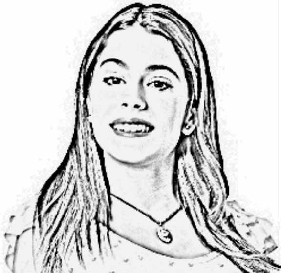 Dibujos de Violetta para Colorear  Vida Blogger