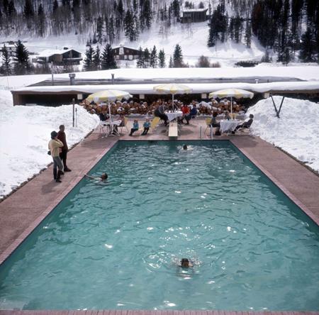 Designrlife Apr S Ski Part I Slim Aarons