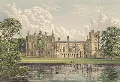 Newstead Abbey from Morris's Seats of Noblemen and Gentlemen (1880)