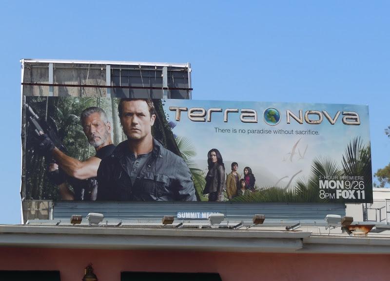 Terra Nova TV billboard