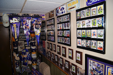 A Vikings fan dream room