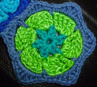week 11 Granny square and hex