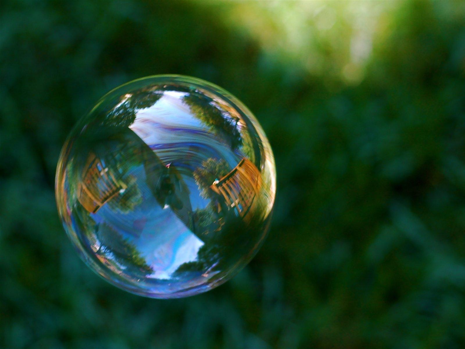 Как сделать фотошопе мыльный пузырь