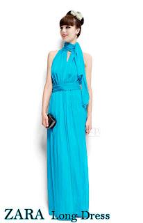 Zara Long Dress fit to L