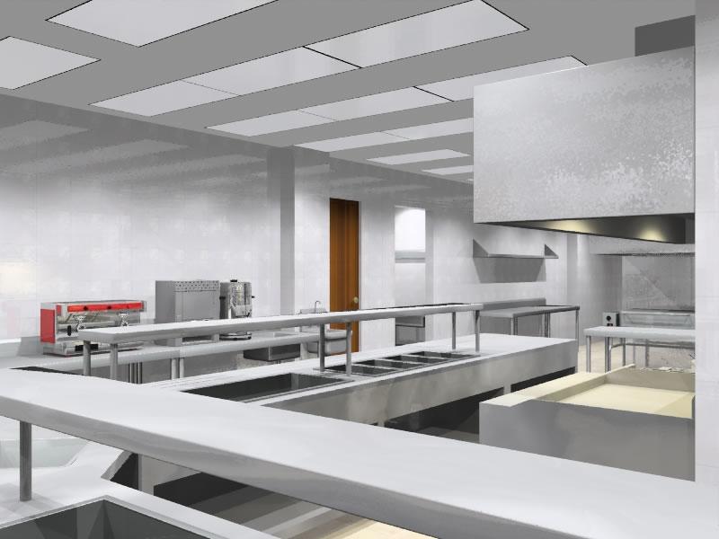 Cocinas industriales for Cocinas pequenas industriales