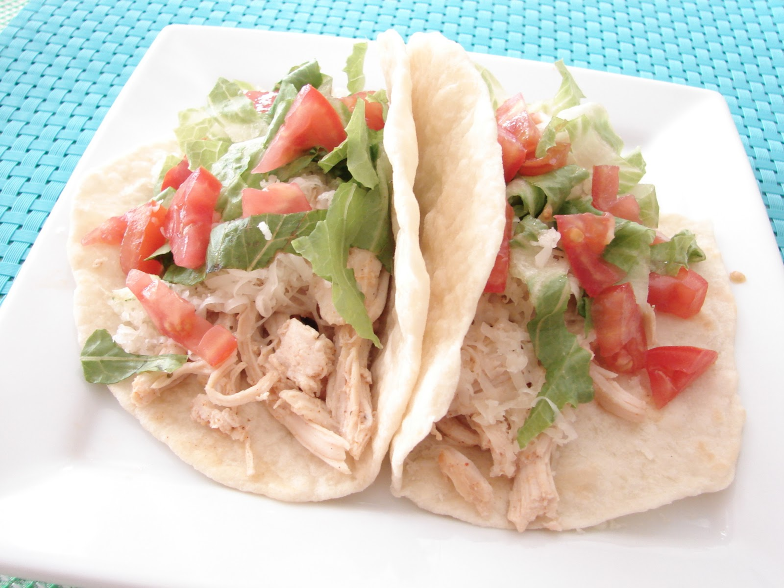 The Royal Cook: Slow Cooker Chicken Taco Filling